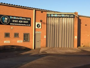 BM Motorworks - building exterior