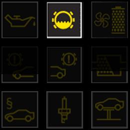 BMW CBS dashboard warning lights - Brake fluid change